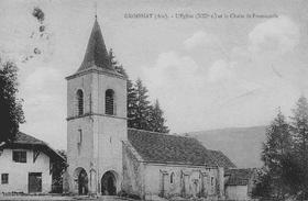 Eglise Notre Dame de Groissiat datant du 12ème siècle