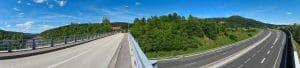 Panorama Autoroute A404