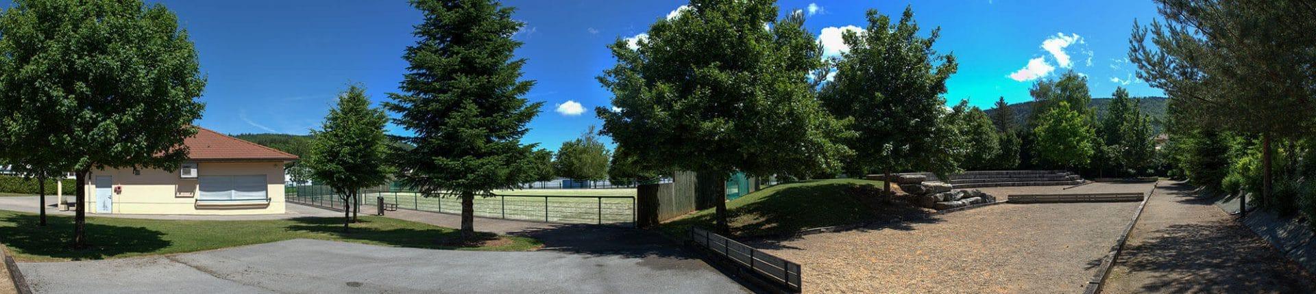 Panorama Parc de loisirs Groissiat